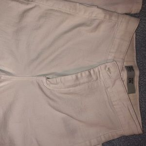 Top shop:  skinny High waisted White  jeans